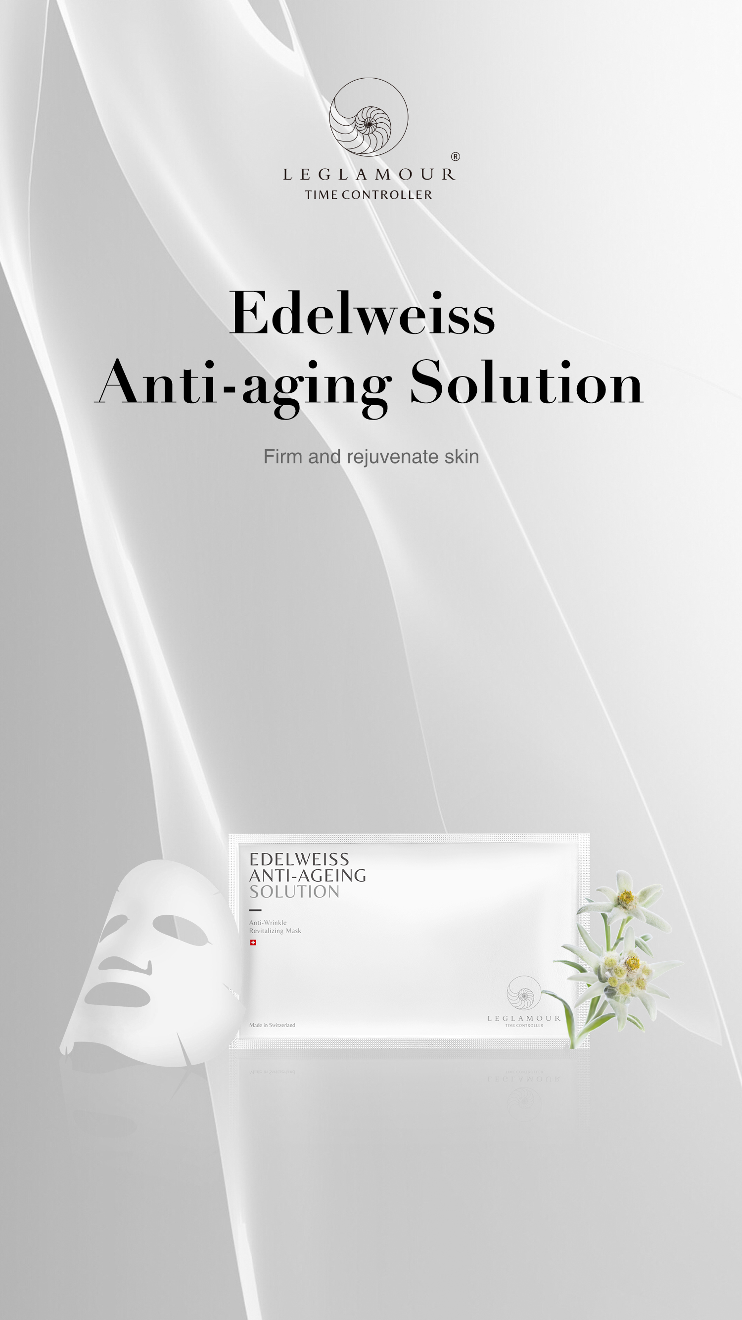 Edelweiss Anti-ageing solution Anti-wrinkle revitalizing mask (5x25ml)