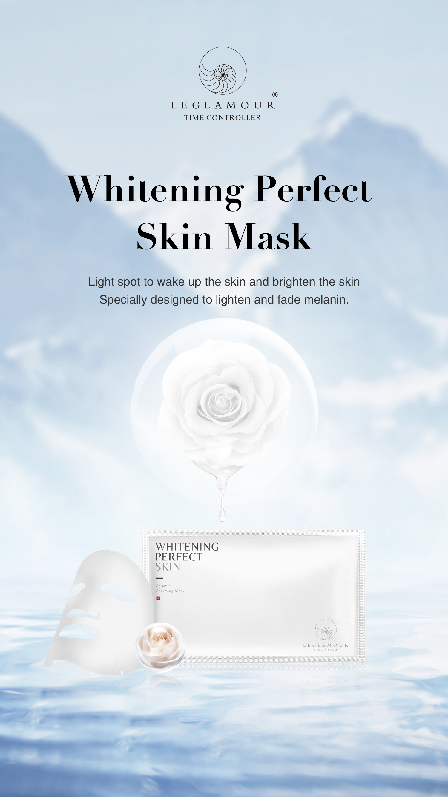 Whiten Perfect Skin Ceramic charming mask (5x25ml)