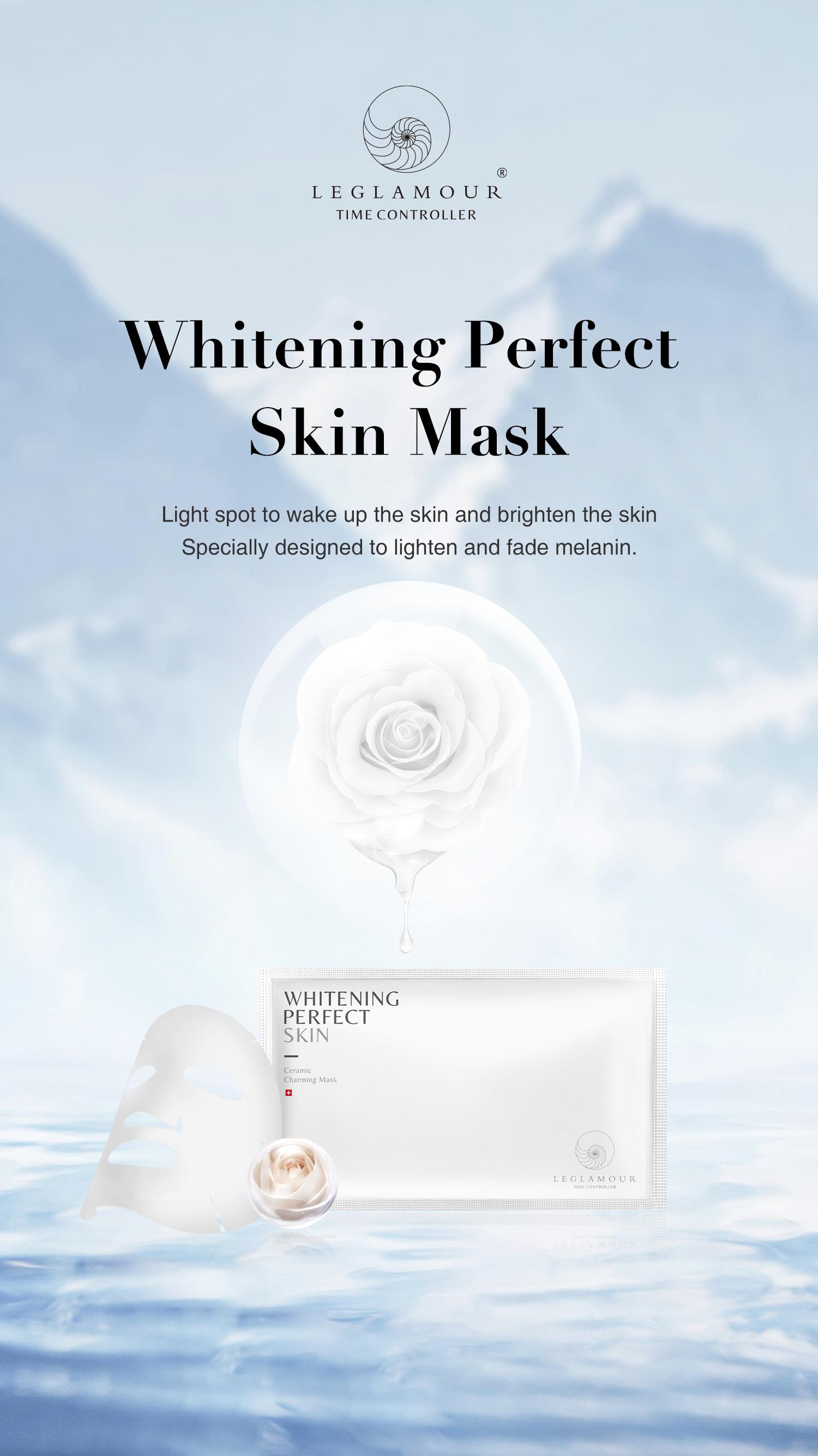 Whiten Perfect Skin Ceramic charming mask (5x25ml)
